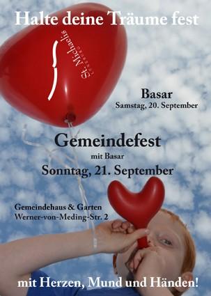Halte deine Träume fest - Gemeindefest und Basar